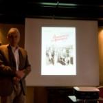 Dr. Reinhold Tschischkale vom MBFG Wunsdorf referiert über Vorzugsmilch