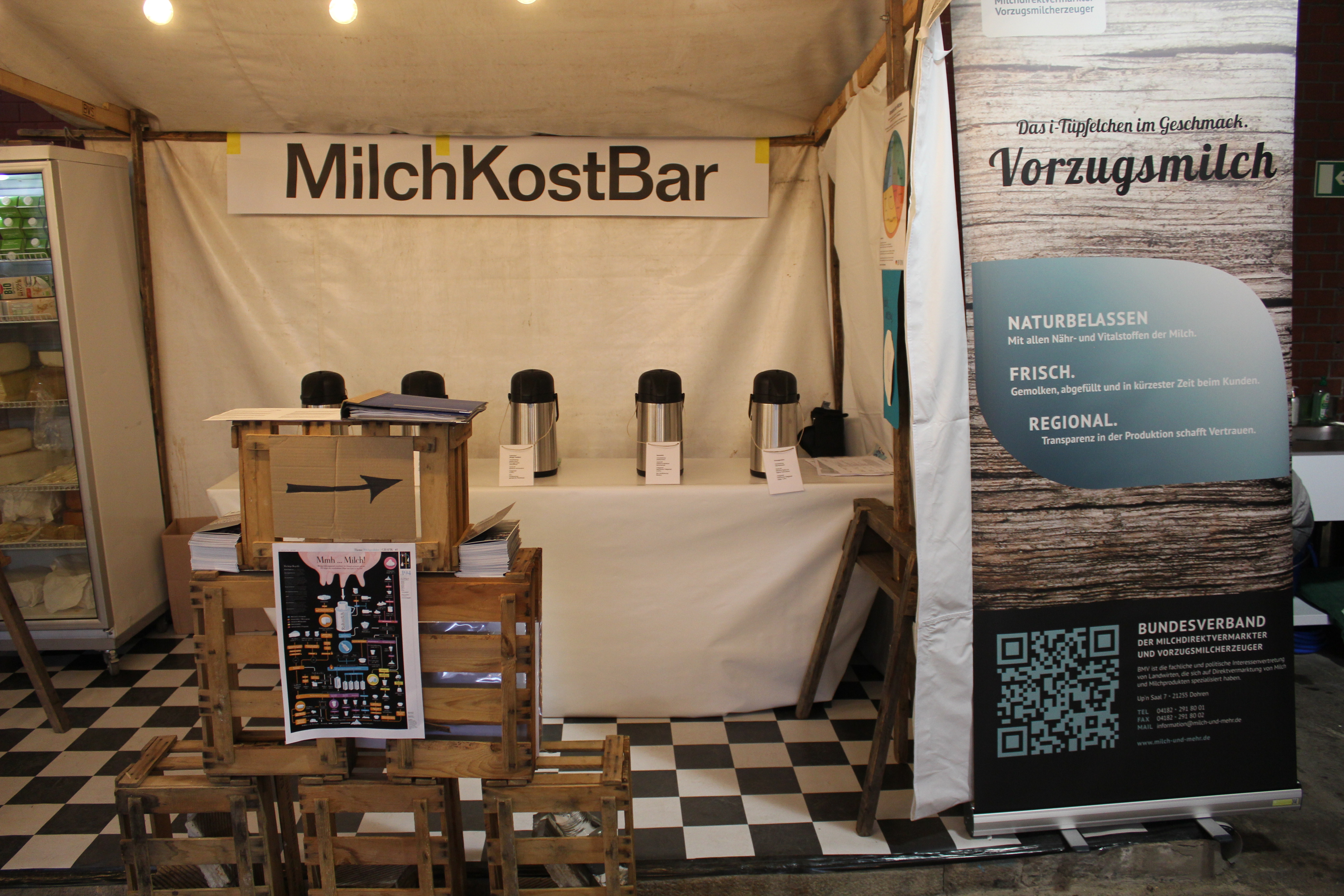 Die MilchKostBar auf der Stadt Land Food 2016