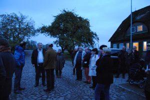 Milchhof Reitbrook, Hofführung in der Dämmerung