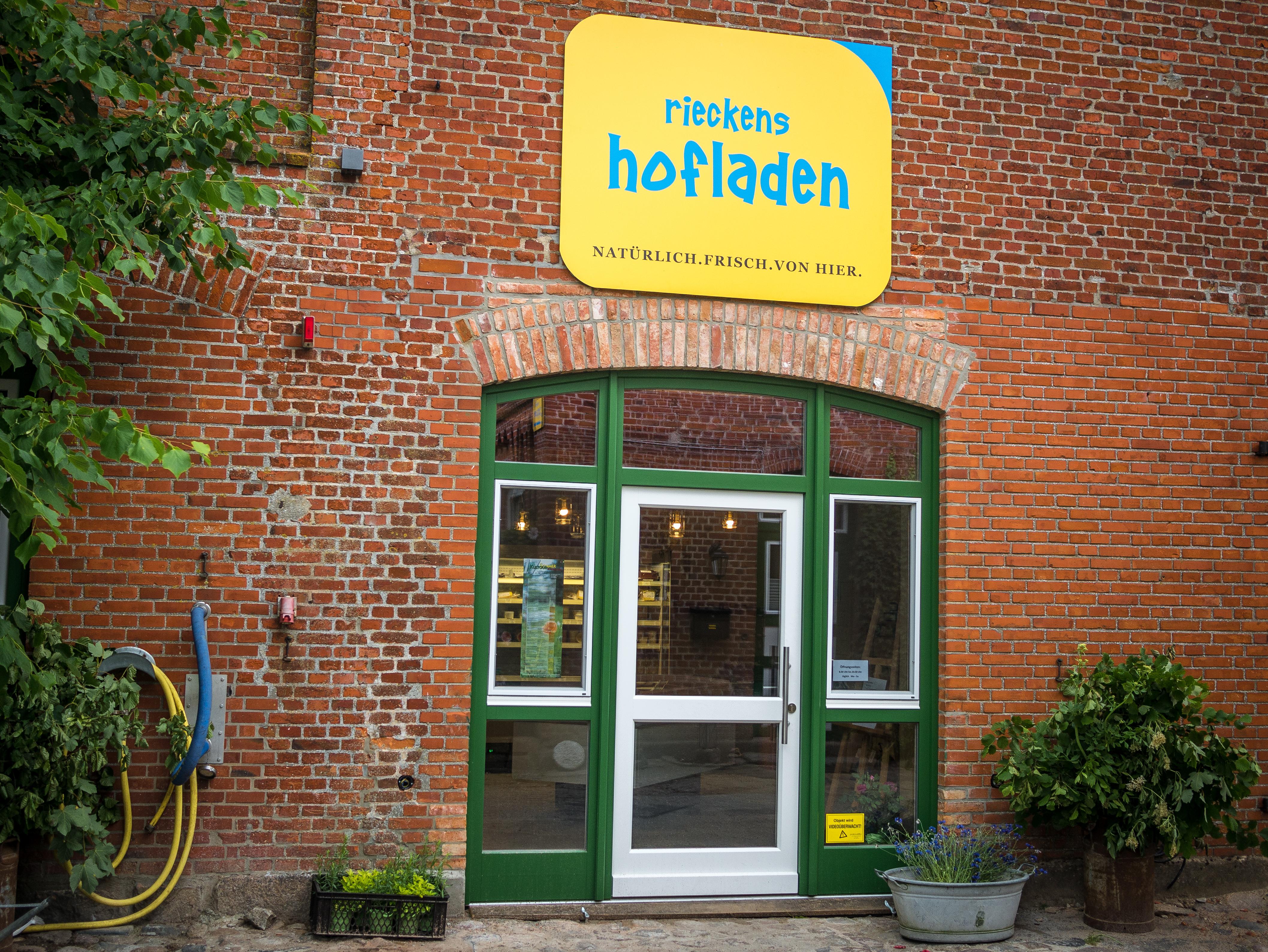 Hofladen Eingangstür