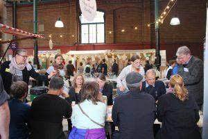 Die Milchverkostung am Slow Food Stammtisch auf der Stadt Land Food 2016